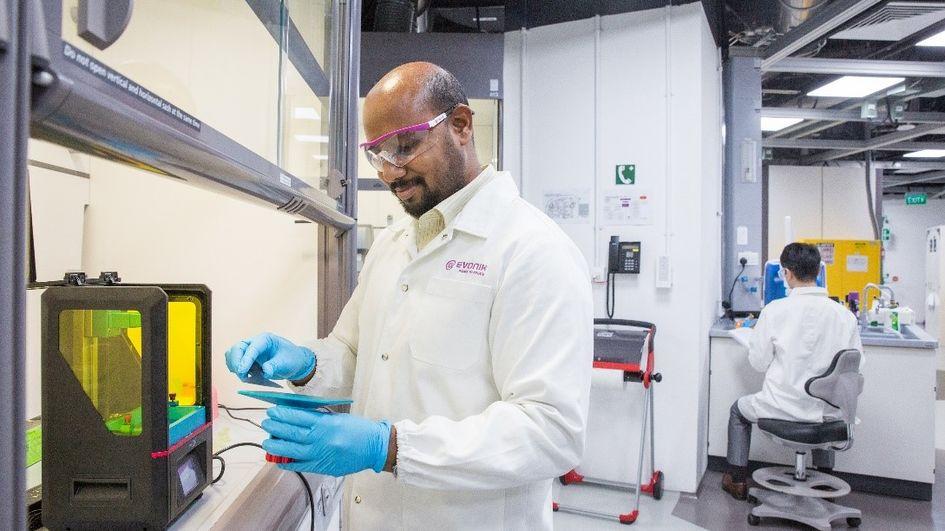 赢创推出面向3D打印应用的全新光敏树脂产品线。