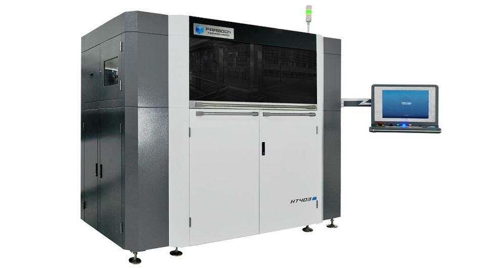 赢创已成功完成INFINAM® PA 6005 P(PA 613)耐高温聚合物粉末材料在华曙ST252P系列设备上的性能测试。(图片来源:华曙高科)